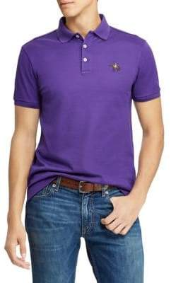 Ralph Lauren Purple Label Logo Cotton Polo Shirt