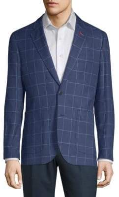 Tailorbyrd Checker Linen Cotton Jacket