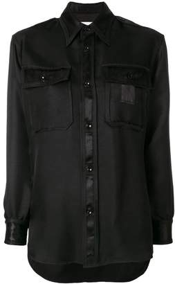 Maison Margiela classic fitted blouse