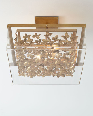 Tommy Mitchell Butterfly Flush-Mount Ceiling Light