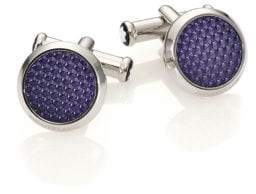 Montblanc Textured Lacquered Cuff Links
