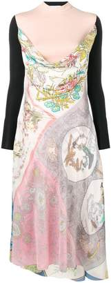 DAY Birger et Mikkelsen Marine Serre scarf print dress