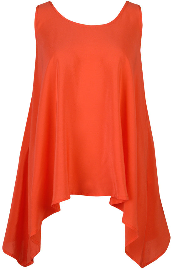 Draped Trapeze Top