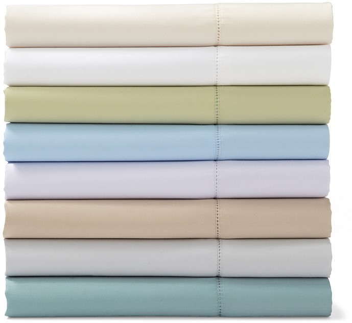 Sky Basic Solid Standard Pillowcases, Pair