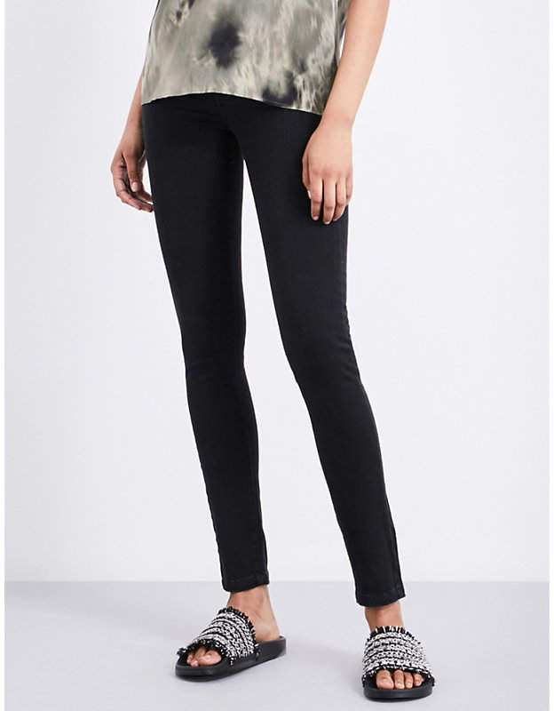 Franky skinny mid-rise jeans