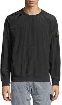 Stone Island Men's Nylon Smock Shirt