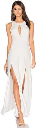 STONE COLD FOX x REVOLVE Owen Gown in White $350 thestylecure.com