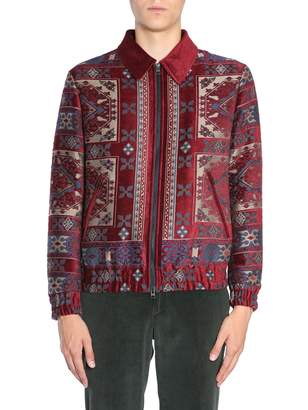 Etro Carpet Jacquard Bomer Jacket