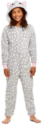 anima Jellifish Kids Girls Reindeer Pajamas   Plush Zippered Kids Animal Onesie Blanket Sleeper