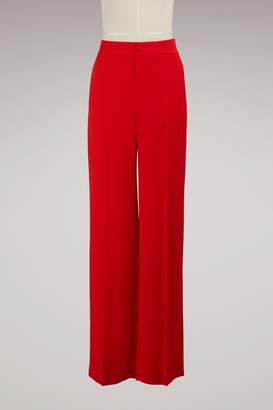 Lanvin Sable Satin Pants