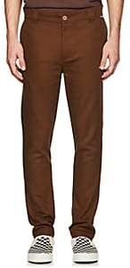"Dickies CONSTRUCT Men's ""Beverly Hills"" Cotton Slim Trousers - Brown"