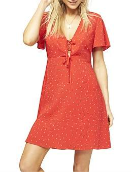 MinkPink Oh Honey Tea Dress