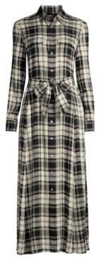 Polo Ralph Lauren Plaid Shirt Dress