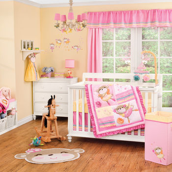Carter's Fairy Monkey 4 Piece Crib Set
