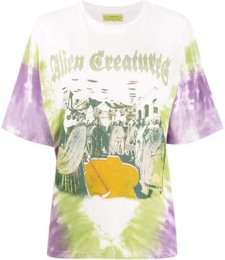 Siberia Hills tie-dye print T-shirt