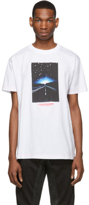 Marcelo Burlon County of Milan White Close Encounters Of The Third Kind Edition Highway T-Shirt