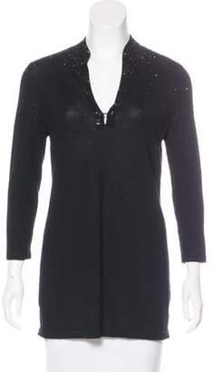 Tory Burch Embellished Wool Tunic