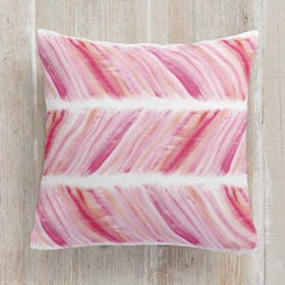 Brushed Herringbone Square Pillow