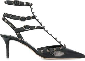 Valentino rockstud caged pumps