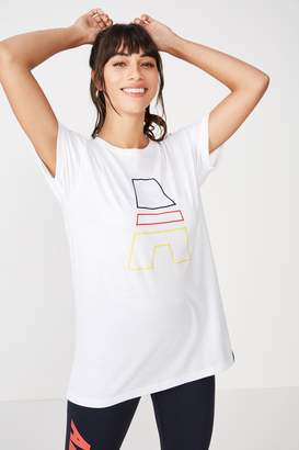 Afl Ladies Short Sleeve Graphic Tee