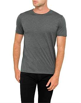 Theory Claey Slim Fit Cotton/Silk Blend Tee