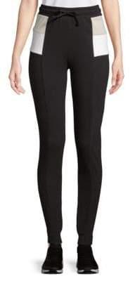Wildfox Couture Colorblock Cotton Jogger Pants