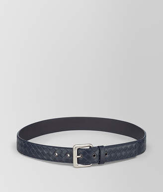 Bottega Veneta LIGHT TOURMALINE INTRECCIATO BELT