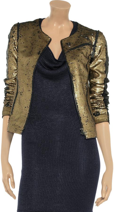 Faith Connexion Sequined jacket
