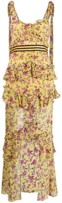 For Love & Lemons floral print layered dress