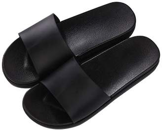 52191b3c7ba at Amazon Canada · +Hotel by K-bros Co TELLW women men Summer couple pure  color indoor slippers bathroom