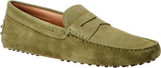Tod's Suede Driving Loafer