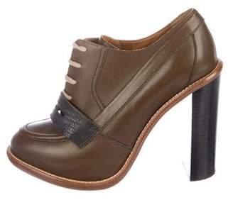 Chloé Leather Oxford Pumps