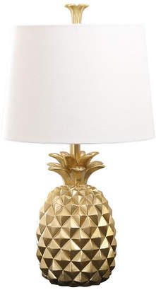 Abbyson Living Ailani Gold Pineapple Table Lamp