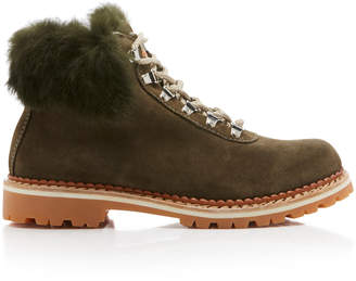 Montelliana Sequoia Après Ski Rabbit Fur Boot