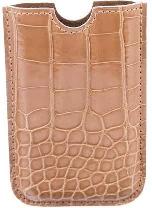 Louis Vuitton Alligator iPhone Slip Case