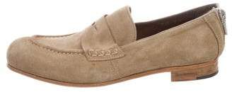 Rocco P. Suede Penny Loafers w/ Tags