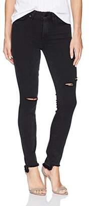 Paige Women's Hoxton Ankle with Uneven Undone Hem Jeans
