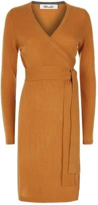 Diane von Furstenberg Linda Knit Wrap Dress
