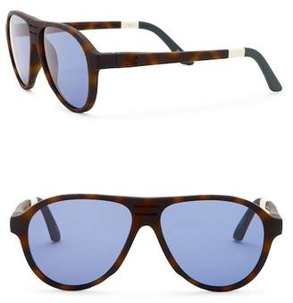 Toms 56mm Traveler Zion Sunglasses