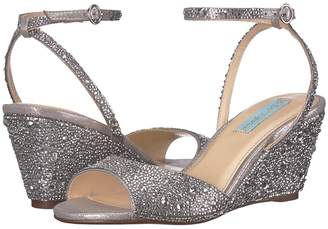 Betsey Johnson Blue by Elora Women's Wedge Shoes