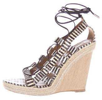 Aquazzura Wild Thing Wedge Sandals w/ Tags