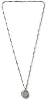 Miansai Saints Matte Sterling Silver Necklace