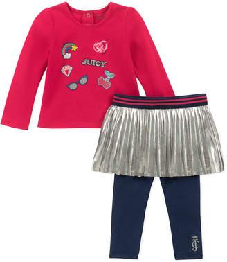 Juicy Couture 2Pc Bodysuit & Legging Set