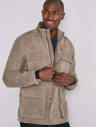 Lucky Brand SUEDE M65 ARMY JACKET