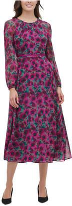 Tommy Hilfiger Grove Floral Chiffon Dress