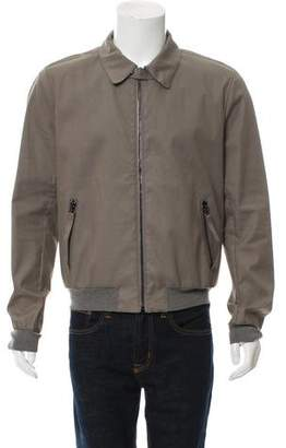 Lanvin Lightweight Zip-Front Bomber Jacket