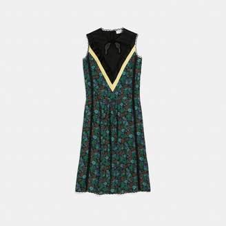 Coach Daisy Print Sleeveless Varsity Dress