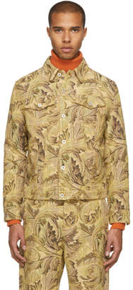 Loewe Yellow William Morris Denim Jacket