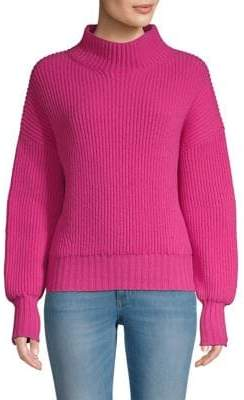 Escada Sport Rib-Knit Virgin Wool& Cashmere Sweater