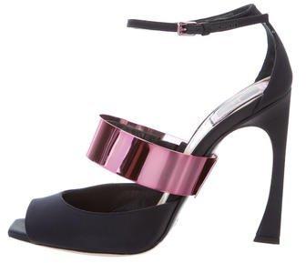 Christian Dior Defile Satin Pumps